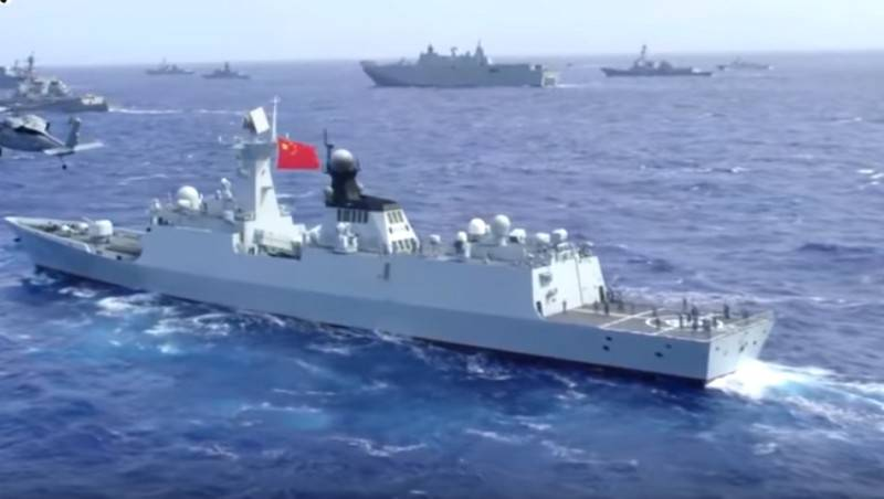 Chinese Navy came in first place in the world in number of ships