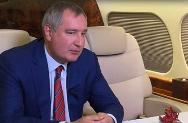 """Rogozin stated plans to launch into space """"Noah's ark"""""""