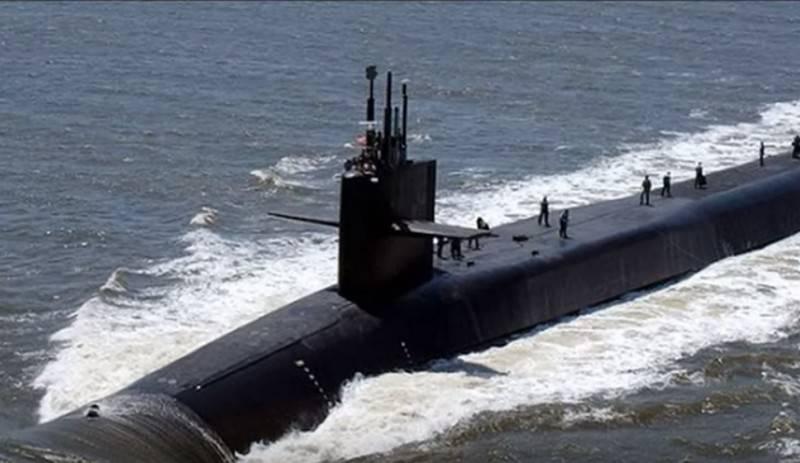 """В США заложили головную атомную подлодку класса """"Колумбия"""""""