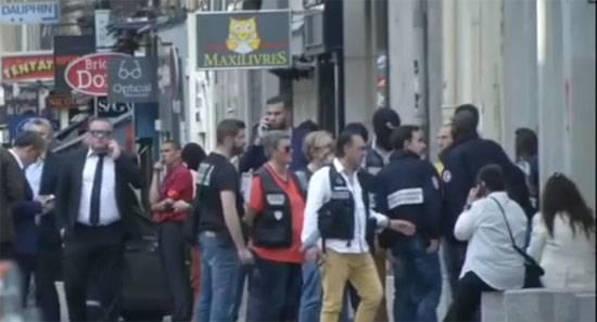 Взрыв прогремел в центре французского Лиона