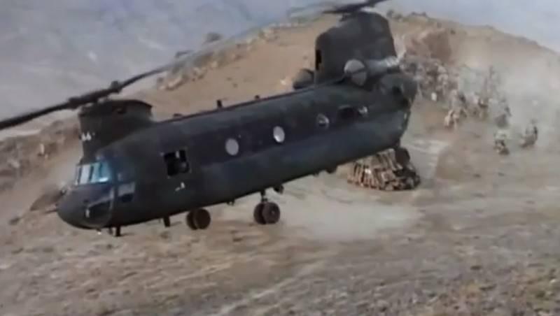 Вертолет армии США совершил жёсткую посадку в Афганистане