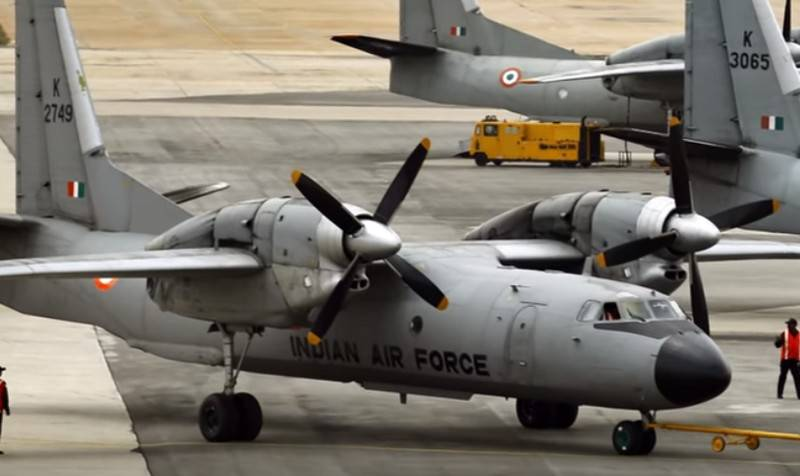 An-32 Aircraft of the Indian air force translate to biofuels