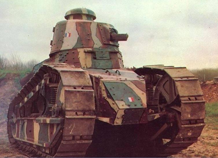 प्रथम विश्व युद्ध के फ्रांसीसी टैंक