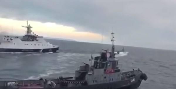 """Украина заявляет о """"гамбургских"""" санкциях против РФ за моряков и катера"""