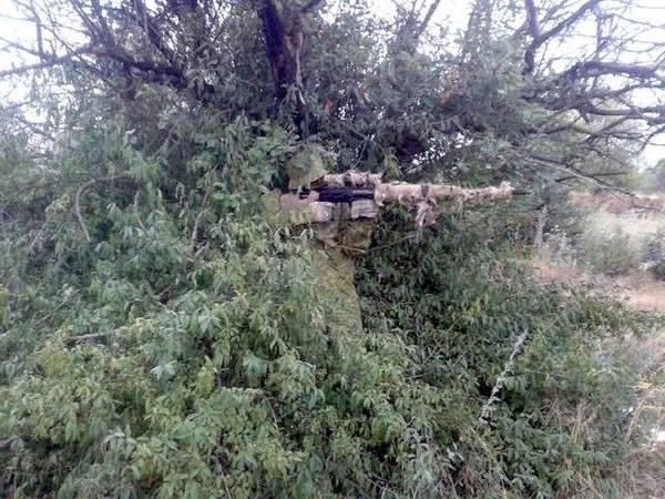 Украинский снайпер признался, что первым открыл огонь в Донецком аэропорту