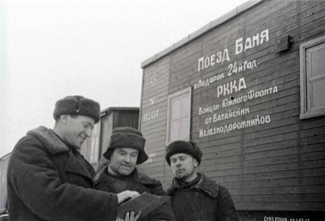 दुनिया में सबसे अच्छा। लाल सेना की स्वच्छता-महामारी विज्ञान सेवा