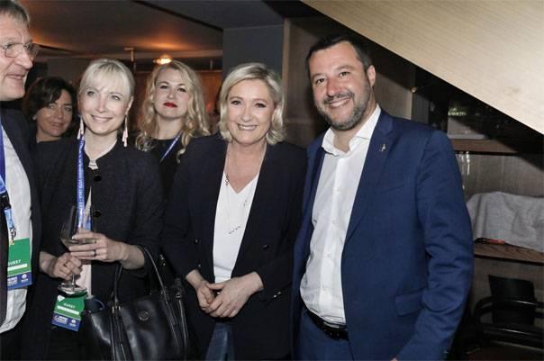 Европарламент наш. На выборах в ЕП во Франции и Италии лидируют Ле Пен и Сальвини