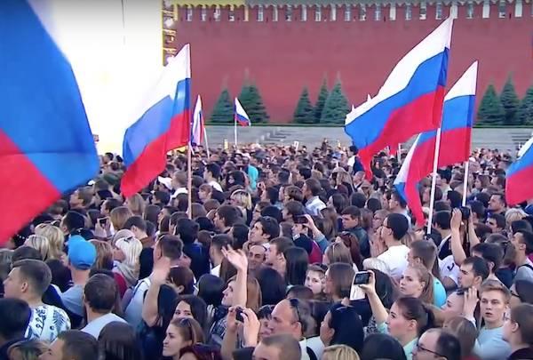 Согласно ВЦИОМ, треть россиян хотят вернуть стране статус сверхдержавы
