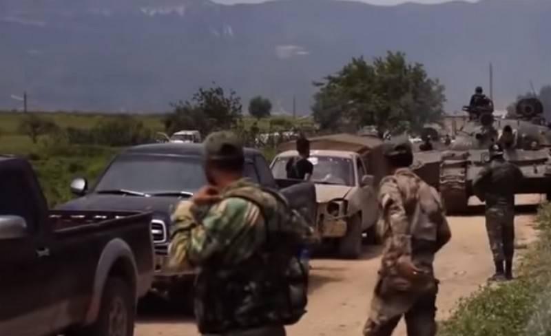Сирийская армия отбила у террористов город Кафр-Набуда