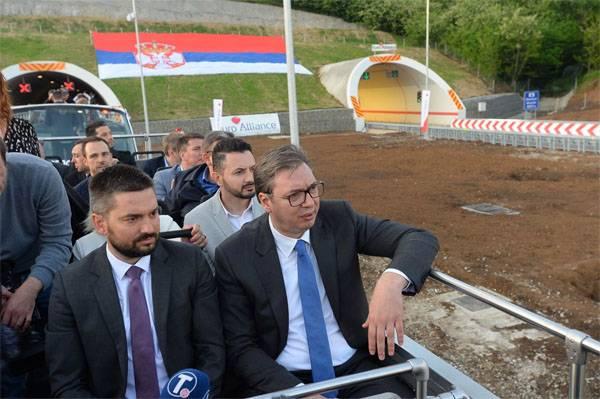 Президент Сербии заявил, что страна потерпела крупное национальное поражение
