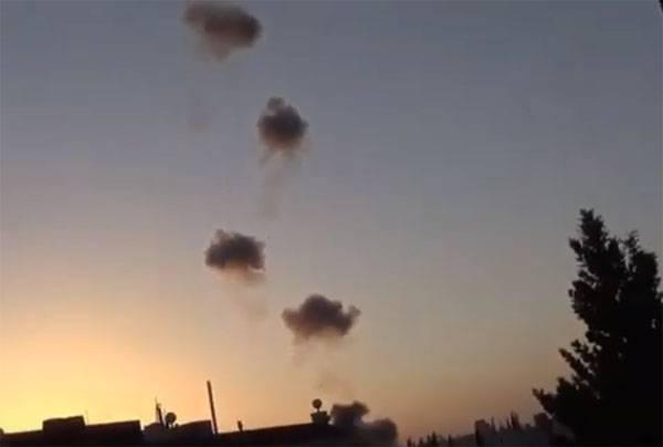 Заявлено о применении кассетной бомбы российского производства в Сирии