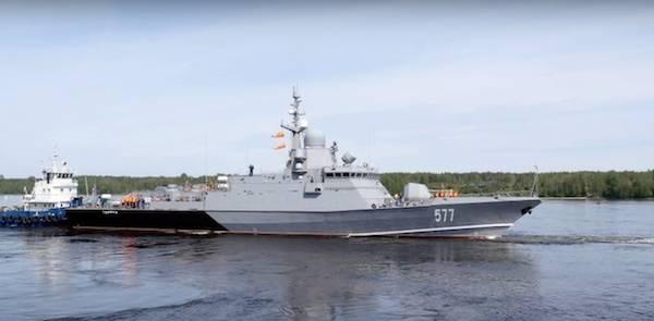 """Первый серийный корабль проекта """"Каракурт"""" завершил первый этап испытаний"""