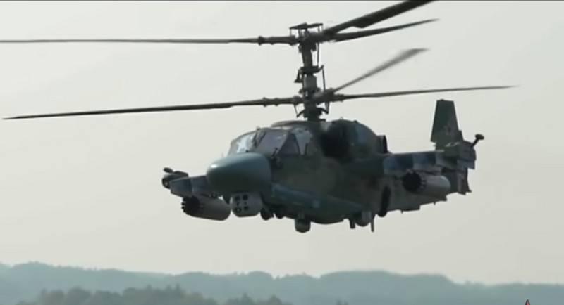 Модернизированный вертолёт Ка-52М создадут к 2022 году