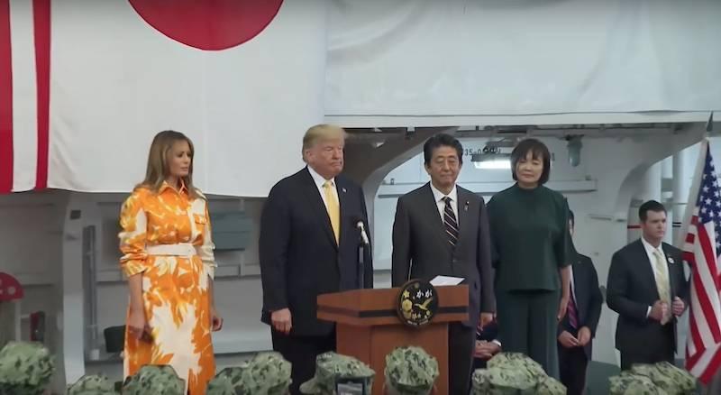 Трамп ждёт от Японии военной поддержки американских операций в Азии