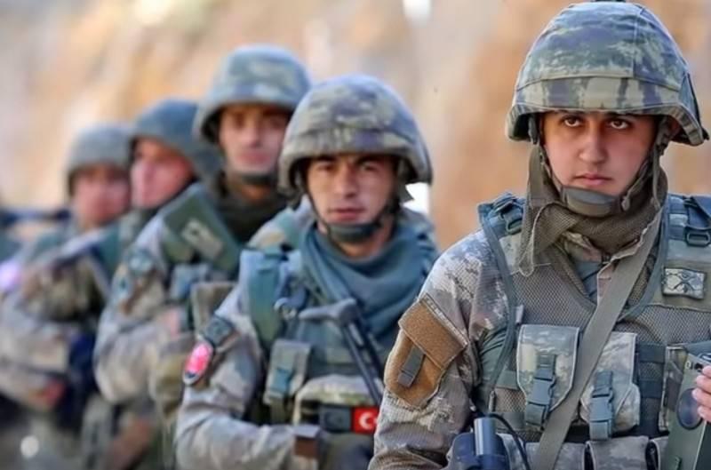 Турция начала военную операцию против курдов на севере Ирака