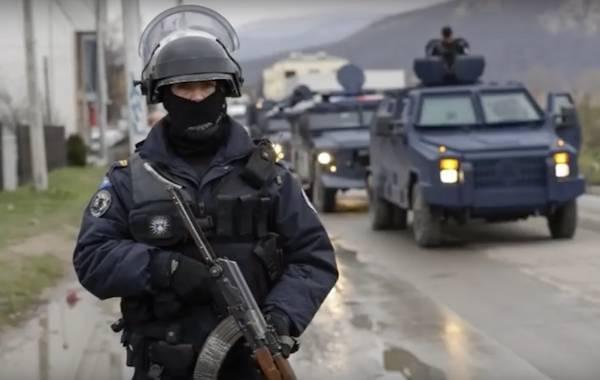 Косовские полицейские задержали российского сотрудника ООН
