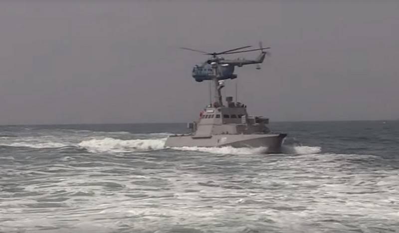 Украина провела очередные военные маневры в акватории Азовского моря