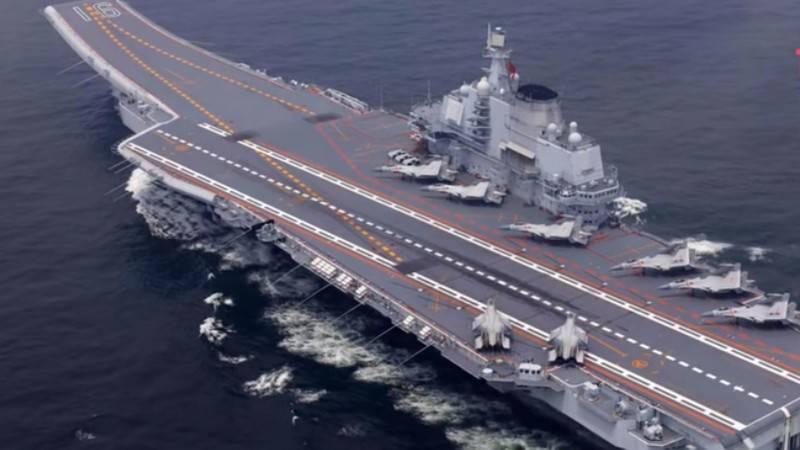 """Второй китайский авианосец """"Тип-001А"""" вышел на ходовые испытания"""