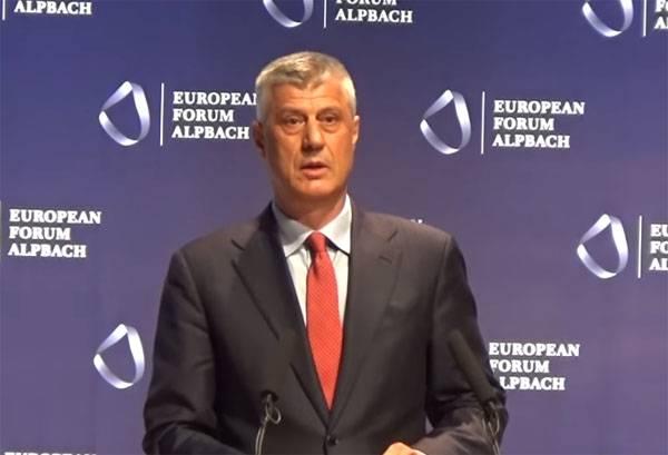 Глава Косово назвал причину задержания российского сотрудника миссии ООН