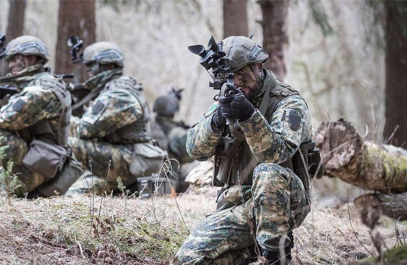 Австрийская армия избавилась от зелено-оливкового камуфляжа