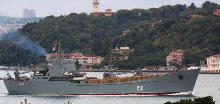 Marina russa contro gli Stati Uniti e l'Occidente. Esempio da operazioni recenti