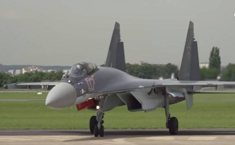 ВКС РФ получит еще 20 истребителей Су-35С до конца следующего года