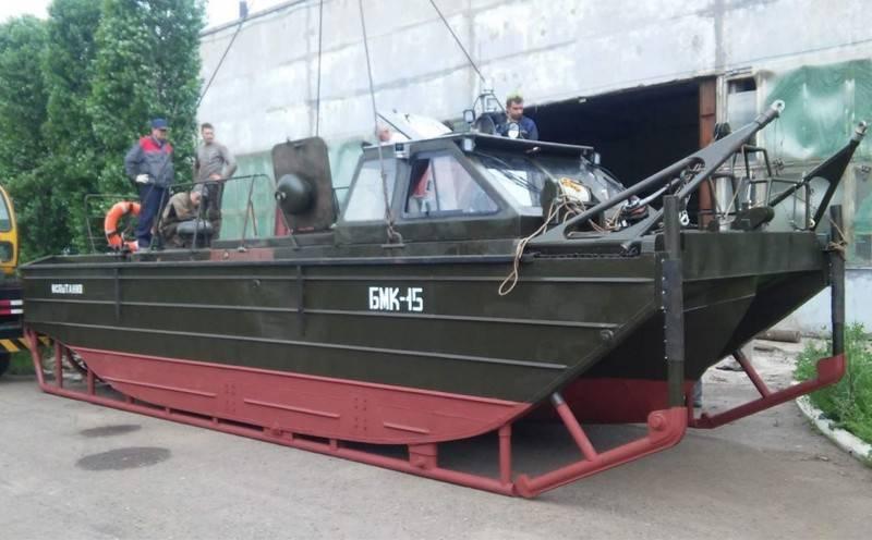Инженерные войска получат 12 новых катеров БМК-15 до конца года