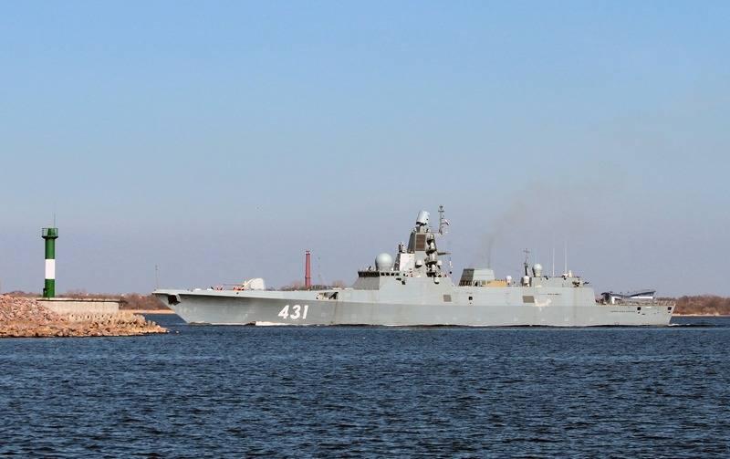 """Die Fregatte """"Admiral Kasatonov"""" setzt die nächste Stufe der Seeversuche fort"""