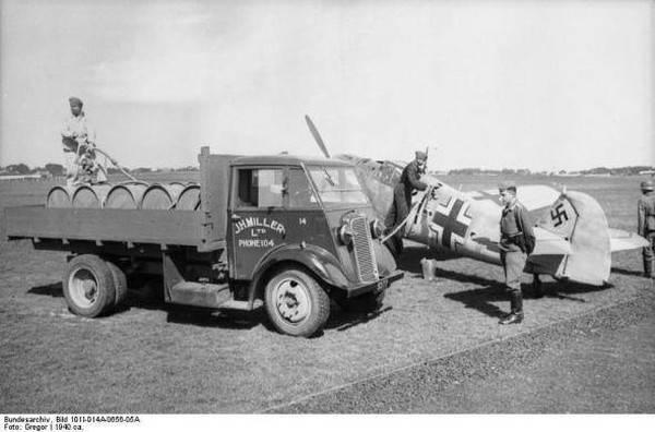 Бензин и дизтопливо Третьего рейха: легенды и мифы