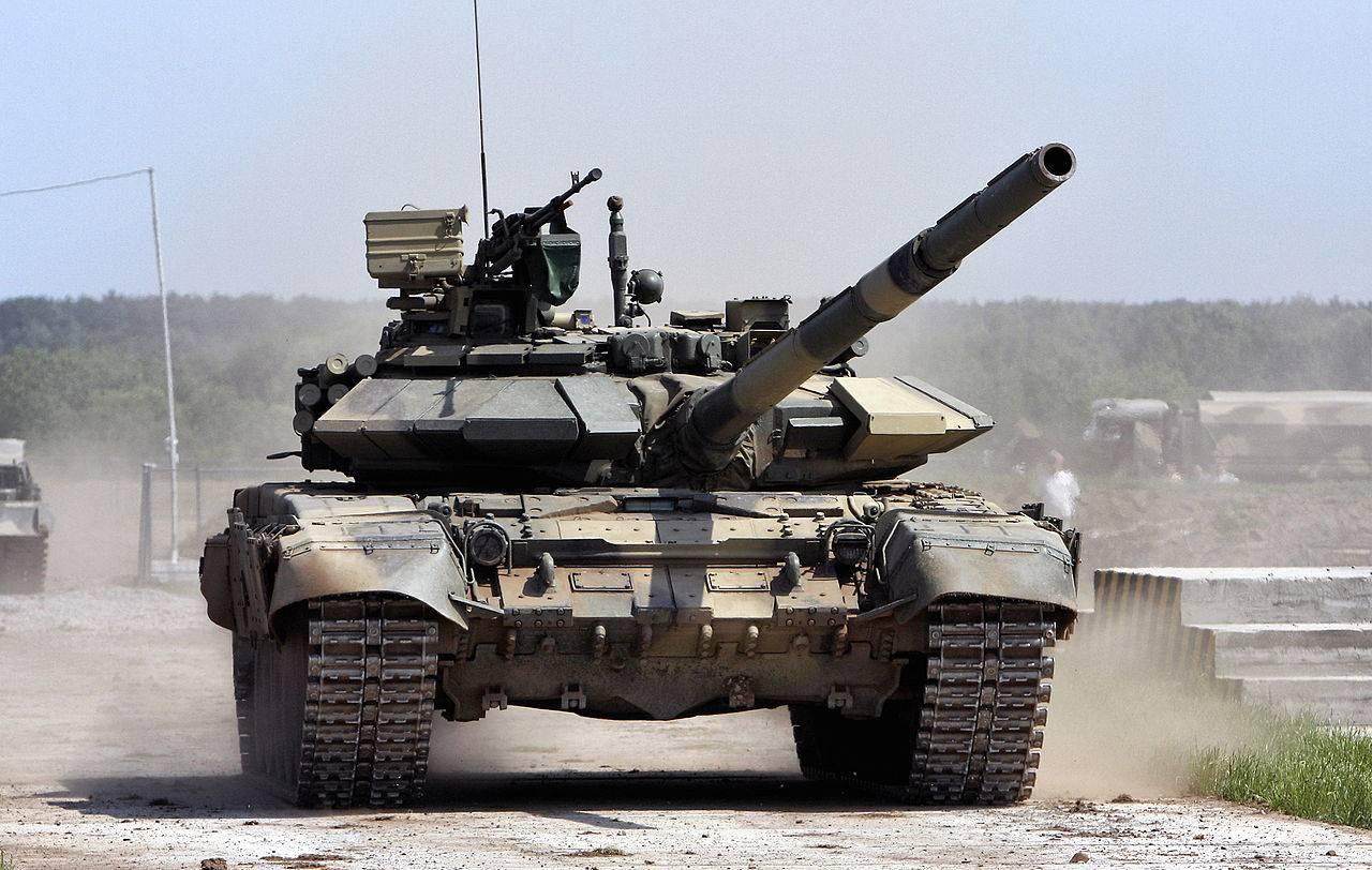 Индия заплатит России $1,2 млрд за комплектующие и передачу технологий для производства танков Т-90С