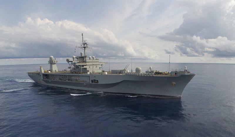 В Балтийское море вошёл командный корабль ВМС США Mount Whitney