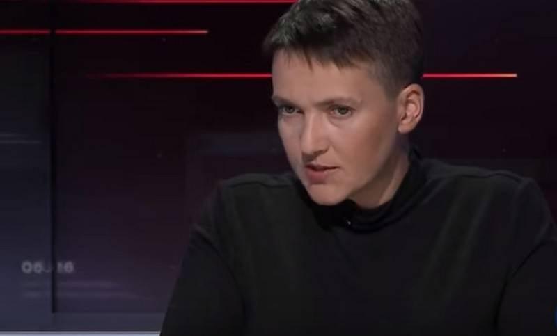 Савченко обвинила Порошенко в организации взрывов на военных складах