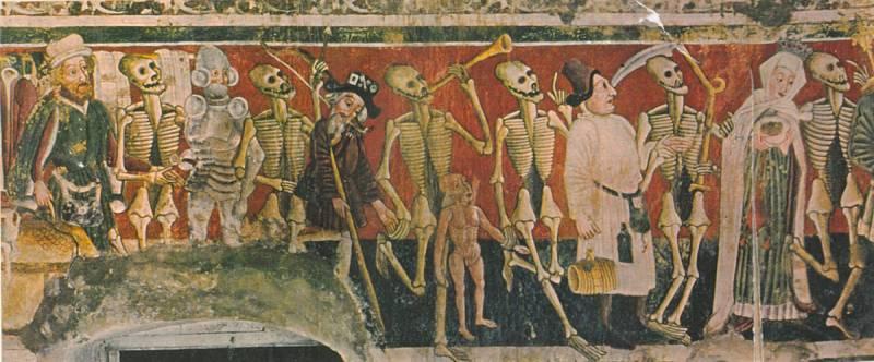 Любекская пляска смерти, Мариенкирхе, 1463 год
