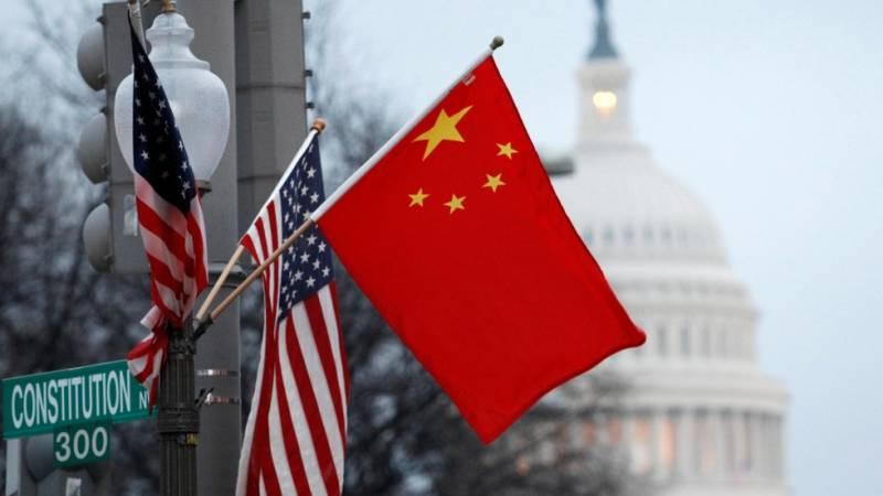 США против КНР, американцы не против китайцев