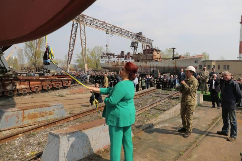"""""""Новый"""" украинский разведывательный корабль шокировал польского эксперта"""