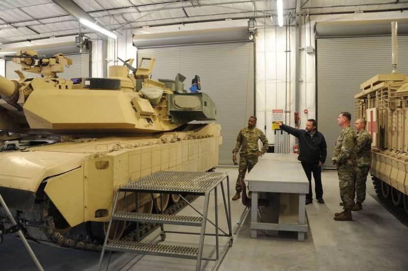 Армия США и её основной боевой танк. Успехи программы M1A2C Abrams
