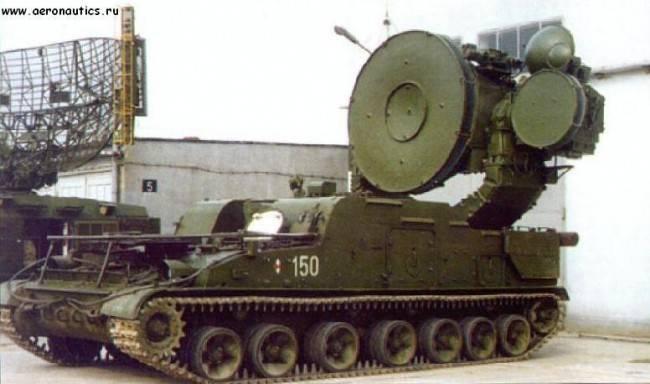 在冷战期间的捷克斯洛伐克军队防空