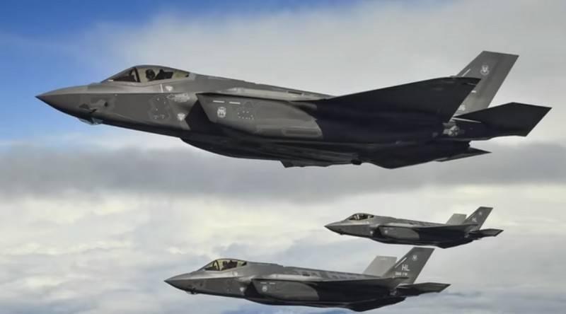 Норвегия получила очередную партию американских истребителей F-35