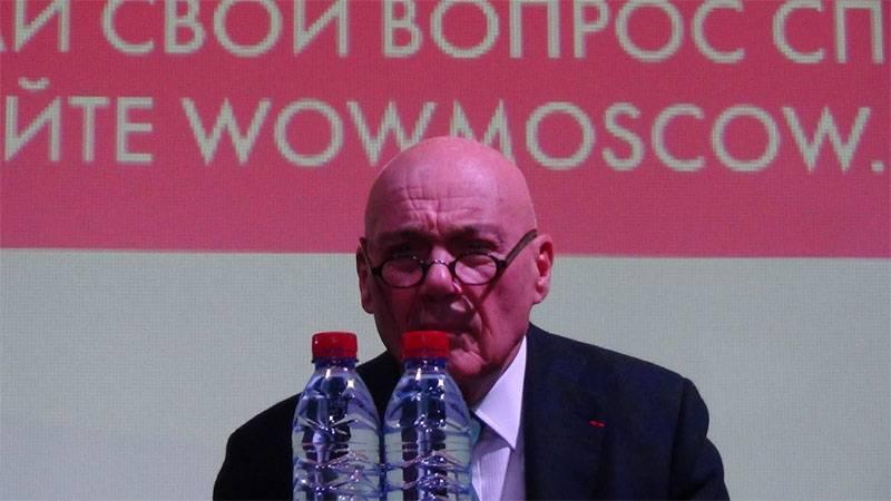"""Познер отреагировал на внесение в списки украинского """"Миротворца"""""""