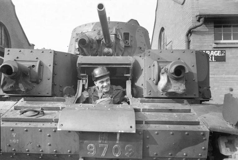 इंटरवार अवधि में इंग्लैंड के टैंक