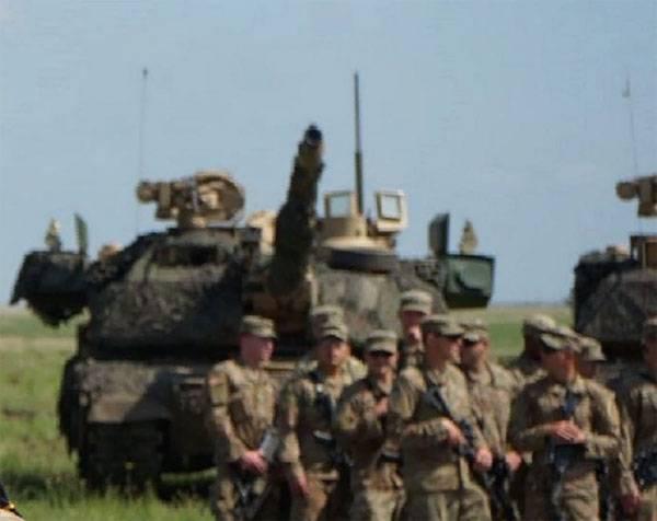 Высокотехнологичный цифровой танк M1 Abrams SEPv3 замечен на учениях в Румынии