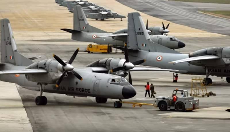 O transporte militar An-32 da Força Aérea Indiana desapareceu das telas de radar