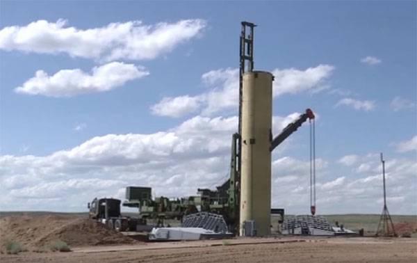 Видео: испытания новой российской противоракеты на полигоне Сары-Шаган (Казахстан)