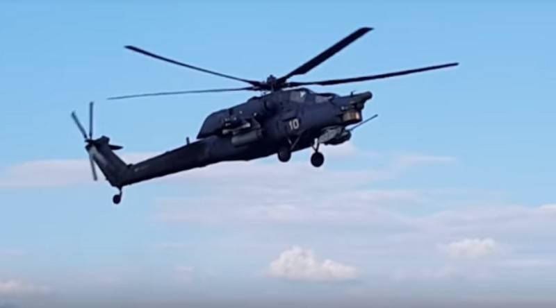 Вертолеты ВКС в Крыму включают станции РЭБ из-за угрозы провокаций ВСУ