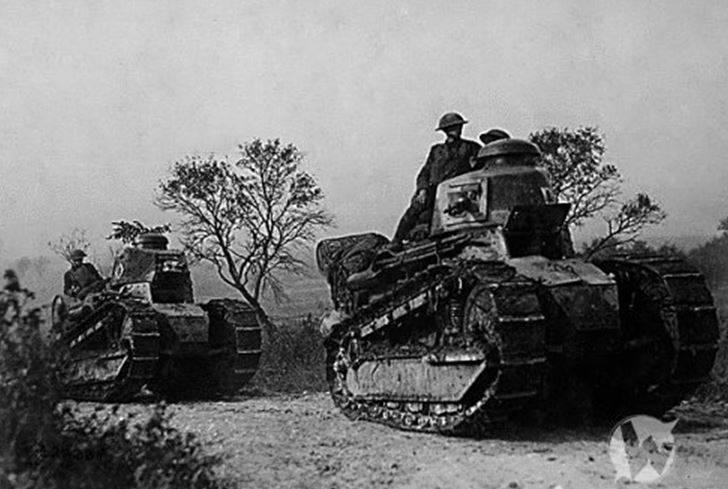 इंटरवार अवधि में फ्रांस के लाइट टैंक