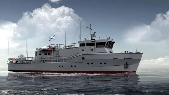 Progetto di barca 23040. Piccola flotta di salvataggio di grandi dimensioni