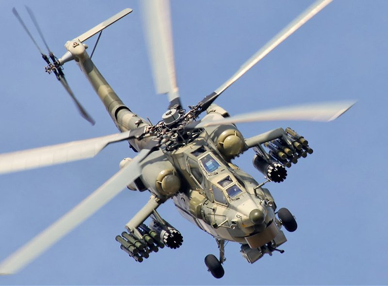 Night Watch: attack helicopter Mi-28Н