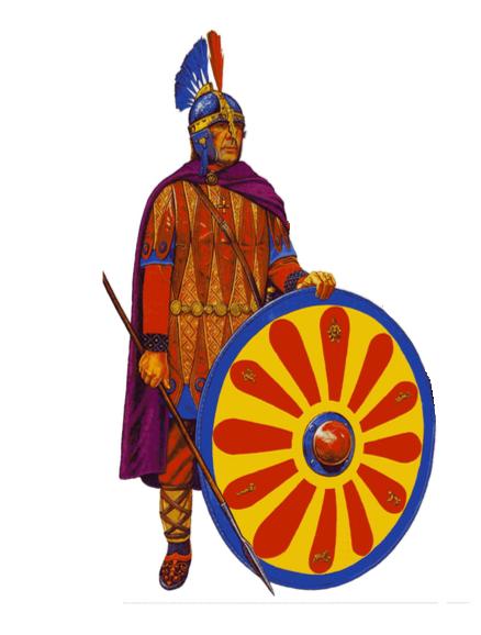 बीजान्टियम VI सदी की भारी पैदल सेना