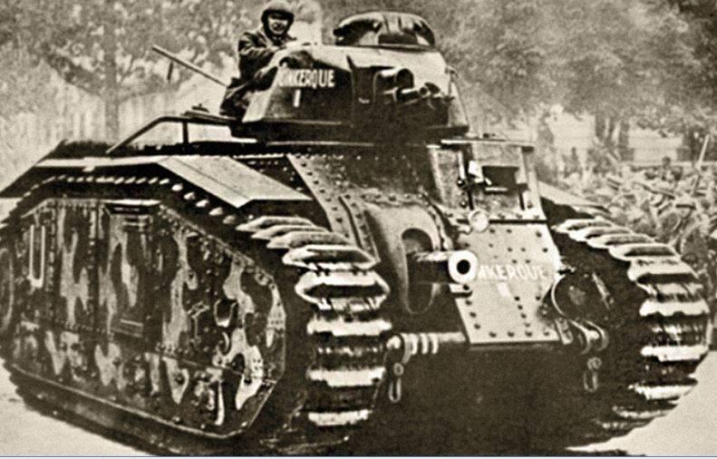 Средние и тяжёлые танки Франции в межвоенный период