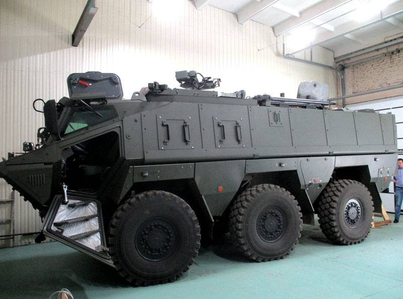 """Statement of criticism, """"Typhoon"""" on the basis of KAMAZ-63969 continues in network"""